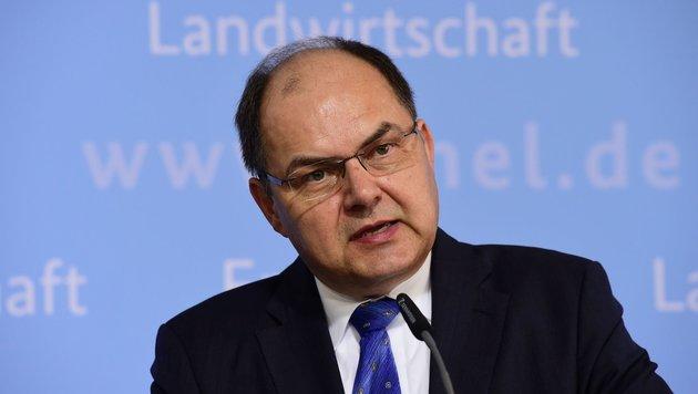 Deutschlands Agrarminister Christian Schmidt (Bild: AFP)