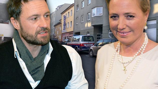 Die Genesung von Sissy Böhm (re.) wird Monate dauern. Sohn Florian bangte tagelang um seine Mutter. (Bild: People Picture/Jens Hartmann, zeitungsfoto.at/Liebl Daniel)