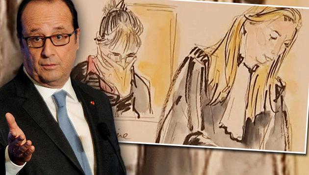 Hollande begnadigt Frau nach Mord an Ehemann (Bild: APA/AFP/JEAN-PIERRE CLATOT, AFP)