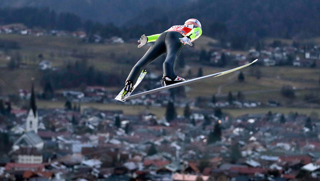 Kraft in Oberstdorf-Quali Dritter (Bild: AP)