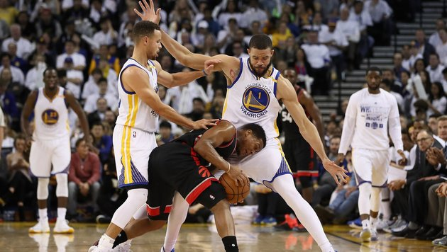 NBA: Toronto verliert bei Golden State Warriors (Bild: APA/AFP/GETTY IMAGES/EZRA SHAW)