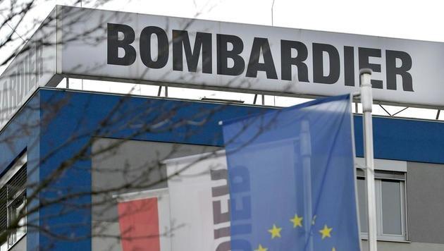 Die Wiener Niederlassung des Zugbauers Bombardier (Bild: APA/HERBERT NEUBAUER)