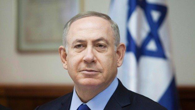 Israels Premierminister Benjamin Netanyahu (Bild: APA/AFP/POOL/DAN BALILTY)