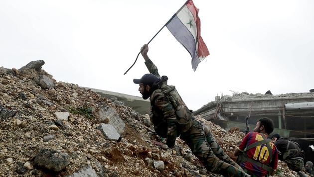 Syrien: Waffenruhe mit Fragezeichen in Kraft (Bild: ASSOCIATED PRESS)