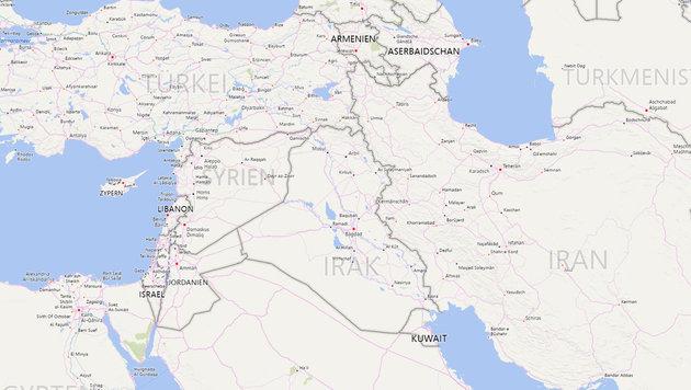 Syrien - umgeben von Instabilität und Großmachtsstreben (Bild: AFP/OZAN KOSE, AP, Bing.com)