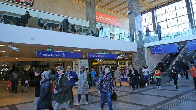 Wirbel um Web-Video vom Wiener Westbahnhof (Bild: Peter Tomschi)