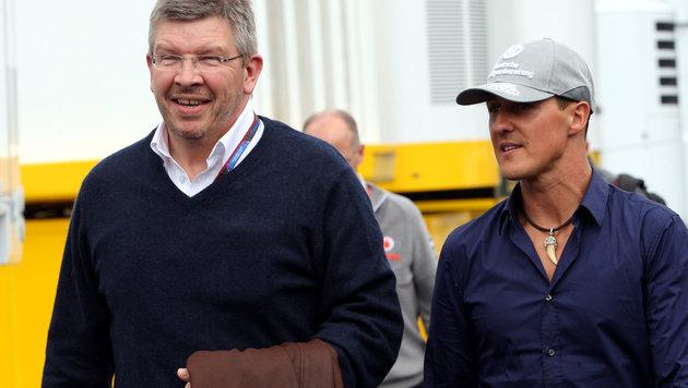 Schumacher hat großen Anteil am Mercedes-Erfolg (Bild: GEPA)