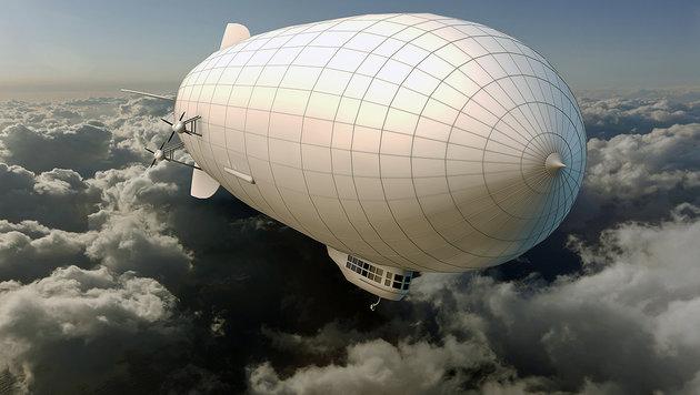 "Amazon-Patent: Zeppelin als ""Drohnen-Mutterschiff"" (Bild: thinkstockphotos.de)"