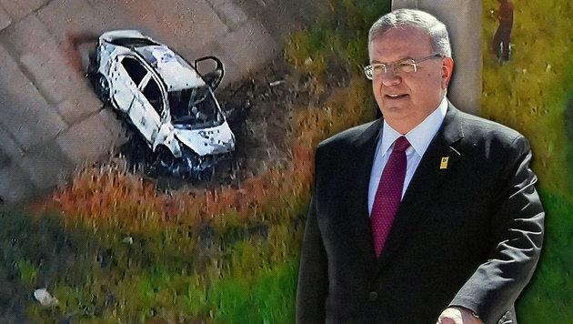 Polizist gesteht Mord an Botschafter in Brasilien (Bild: AFP/VANDERLEI ALMEIDA, AFP/MARCOS CORREA)