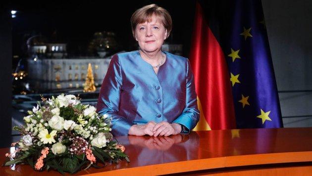 """""""Sind der Gegenentwurf zu hasserfülltem Terror"""" (Bild: APA/AFP/POOL/MARKUS SCHREIBER)"""