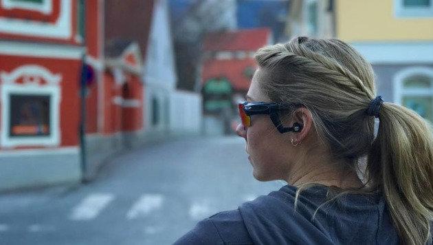 Die beste Dame im Skizirkus Mikaela Shiffrin zu Besuch in Obdach, dem Heimatort von Renate Götschl. (Bild: instagram.com)