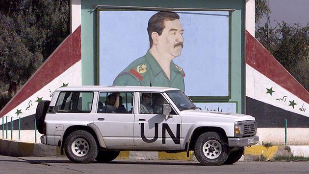 Irak: Vor zehn Jahren wurde Saddam Hussein gehängt (Bild: AFP)