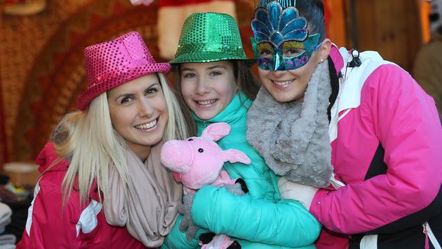 650.000 Gäste feierten am Wiener Silvesterpfad (Bild: Peter Tomschi)