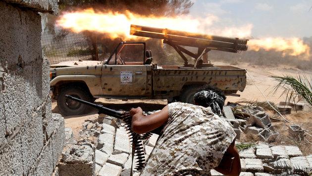 Kämpfe in Libyen - die Lage in Nordafrika bleibt instabil. (Bild: Reuters)