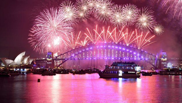 Feuerwerk über Sydney (Bild: AFP or licensors)