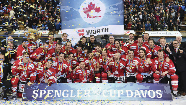 Team Canada gewann 90. Spengler Cup (Bild: AP)