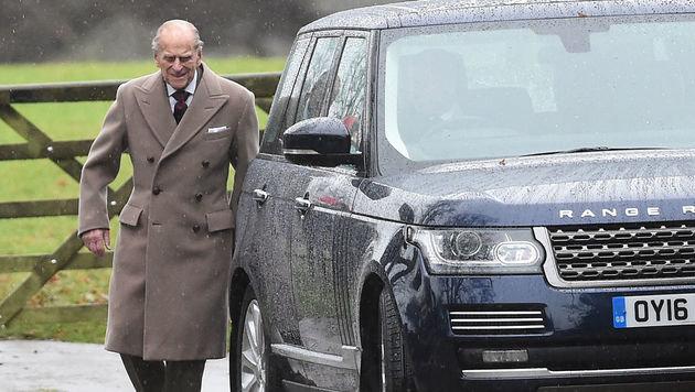 Prinz Philip besuchte die Neujahrsmesse in Sandringham ohne seine Frau, Königin Elizabeth II.. (Bild: ASSOCIATED PRESS)