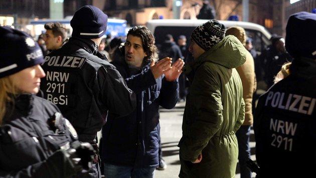 Polizei verhinderte neue Silvester-Katastrophe (Bild: AFP)