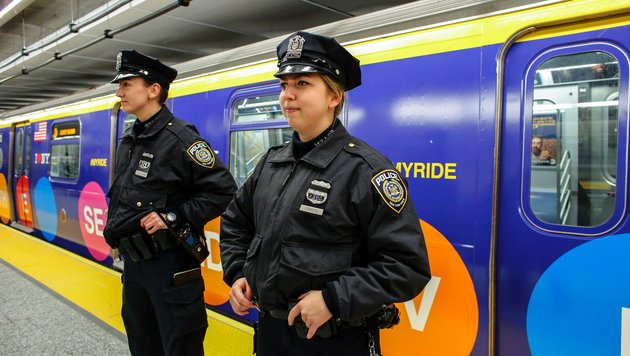 New York eröffnet teuerste U-Bahn-Linie der Welt (Bild: AFP)