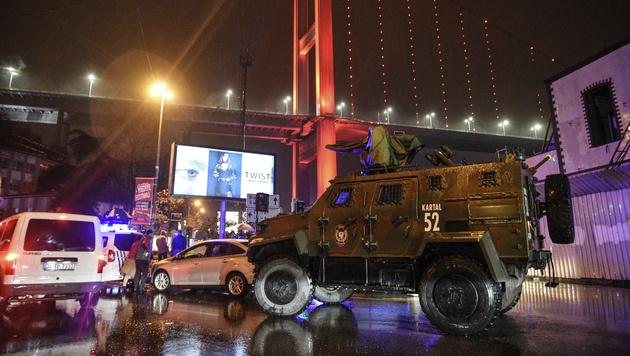 Hier beginnt der Istanbul-Attentäter das Morden (Bild: AP)
