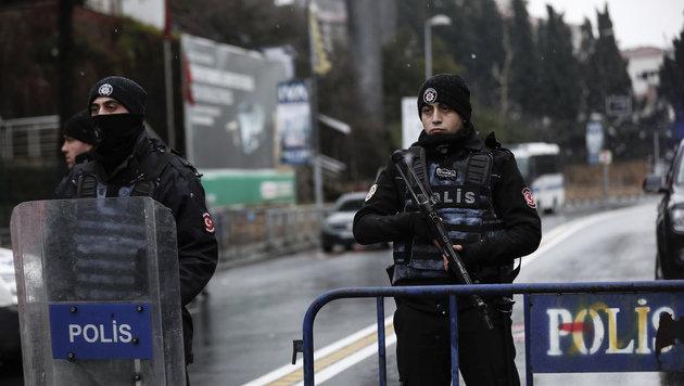 Hier beginnt der Istanbul-Attentäter das Morden (Bild: ASSOCIATED PRESS)