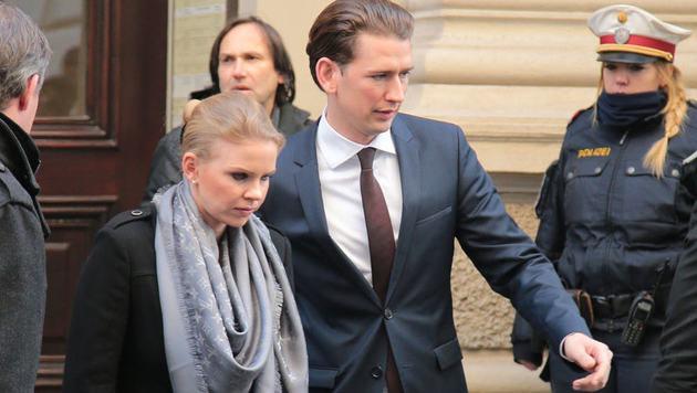 Außenminister Sebastian Kurz und seine Susanne (Bild: Alexander Tuma)