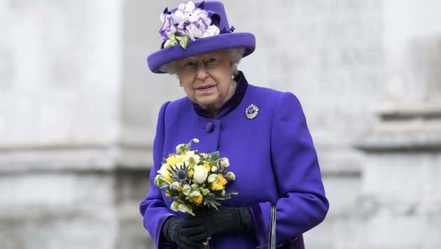 Queen Elizabeth II. (Bild: APA/AFP/JUSTIN TALLIS)
