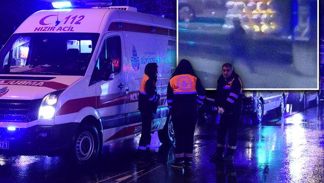 Hier beginnt der Istanbul-Attentäter das Morden (Bild: APA/AFP/YASIN AKGUL, twitter.com)