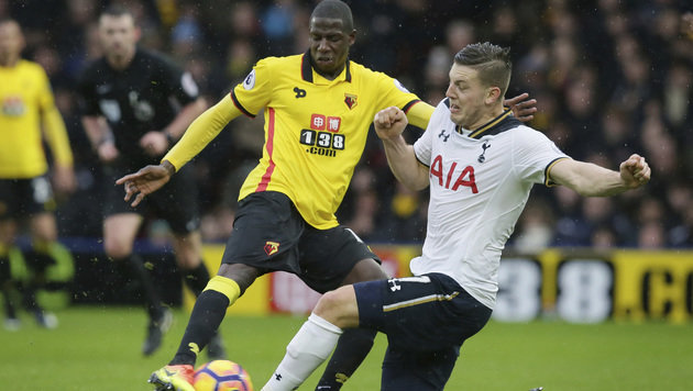 Wimmer siegt mit Tottenham bei Prödls Watford 4:1 (Bild: Associated Press)