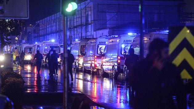 Attentäter von Istanbul ist weiter auf der Flucht (Bild: Associated Press)