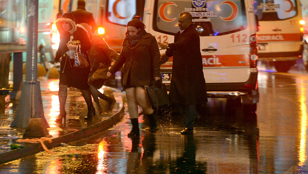 Tötete 39 Menschen: Istanbul-Massenmörder gefasst (Bild: APA/AFP/IHLAS NEWS AGENCY)