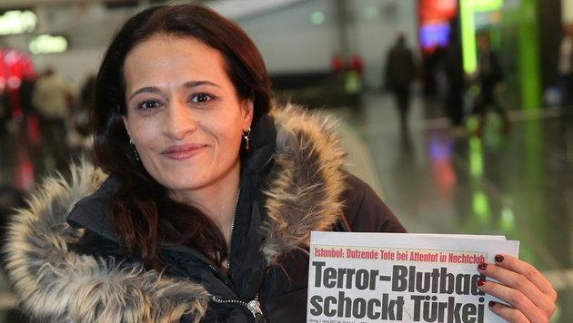 Serife Öztürk (36) wurde Augenzeugin des Terrors. (Bild: Peter Tomschi)
