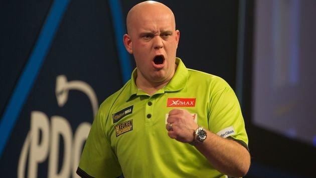 Darts-WM: Michael van Gerwen holt sich den Titel! (Bild: AFP)
