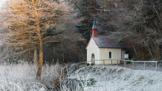 """Das """"Heilige Kammerl"""" von Auerbach war der erste Tatort. (Bild: Daniel Scharinger)"""