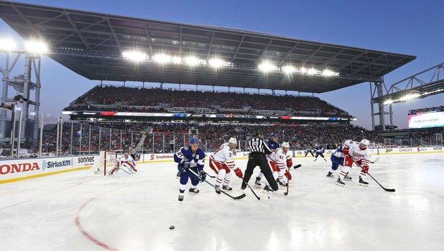 Vanek-Pleite im Fußball-Stadion vor 40.000 Fans (Bild: APA/AFP/GETTY IMAGES/Claus Andersen)
