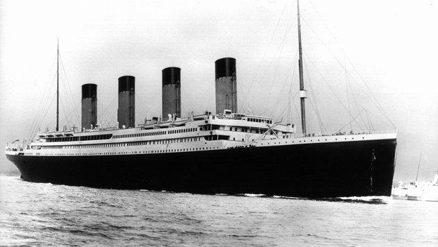 "Experte behauptet: ""Titanic"" sank wegen Feuer (Bild: EPA/PA)"