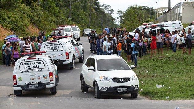 Brasilien: Dutzende Tote bei Aufstand in Gefängnis (Bild: AFP)