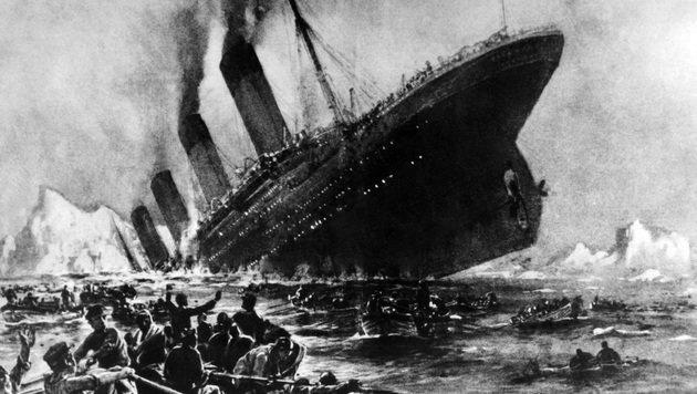 "Experte behauptet: ""Titanic"" sank wegen Feuer (Bild: AFP/picturedesk.com)"