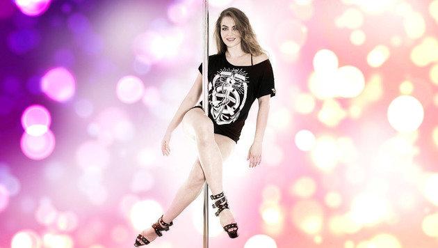 """Fitness-Tipps vom Wiener Poledance-Girl (Bild: Shervin Rafsandjani)"""