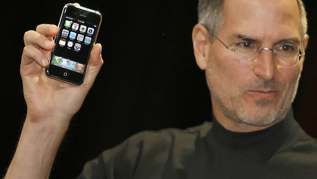 iPhone-Hype seit Tod von Steve Jobs rückläufig (Bild: AFP)