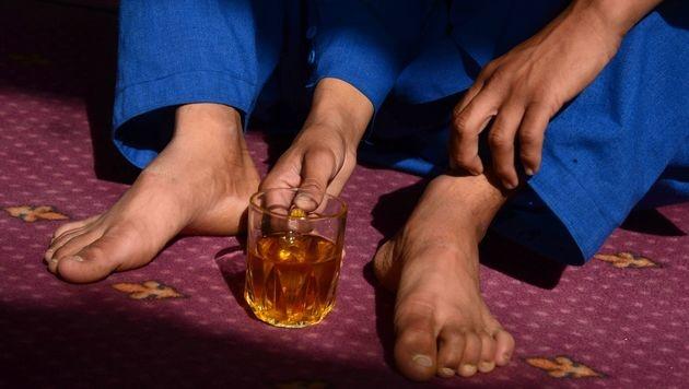 Gängige Praxis: Afghanische Buben als Sexsklaven (Bild: AFP)