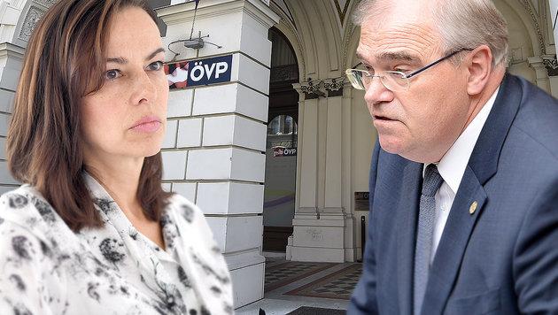 Insider orten Umbau im Regierungsteam der ÖVP (Bild: APA/HELMUT FOHRINGER, APA/ROLAND SCHLAGER)
