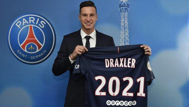 Julian Draxler unterschreibt bei PSG bis 2021 (Bild: facebook.com)