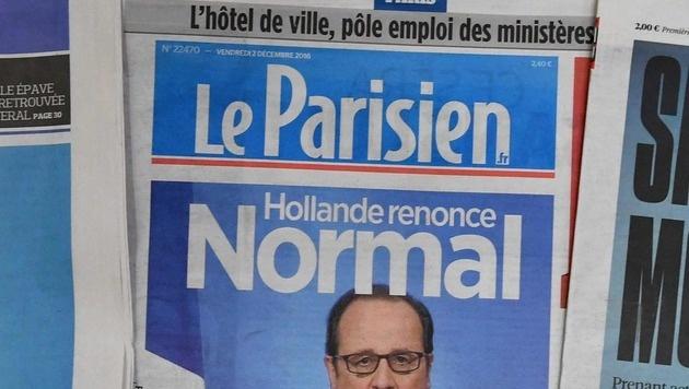 """""""Le Parisien"""" gibt keine Umfragen mehr in Auftrag (Bild: AFP)"""