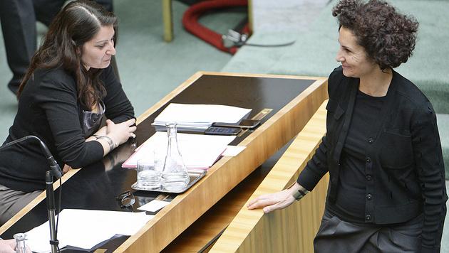 Staatssekretärin Muna Duzdar (li.) und NR-Abgeordnete Alev Korun haben Migrationshintergrund. (Bild: APA/Robert Jäger)