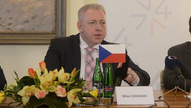 Tschechiens Innenminister Milan Chovanec (Bild: AFP)