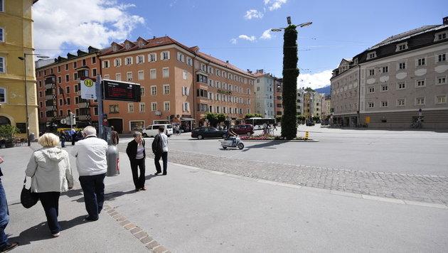 Der Marktplatz in Innsbruck (Bild: commons.wikimedia.org/Ralf Roletschek)