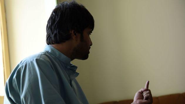 Schirin im AFP-Interview (Bild: AFP)
