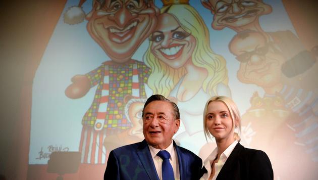 Richard und Cathy Lugner (Bild: APA/ROLAND SCHLAGER)