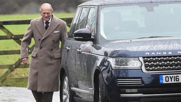 Prinz Philip am Neujahrstag (Bild: AP)